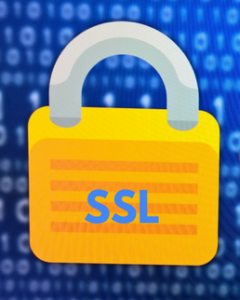 SSL will provide security for your website!